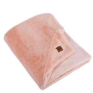 UGG Baby Pink Polar Throw Blanket 50 In x 70In